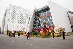 AAsian kines, Peking, åkerbruk karneval Royaltyfri Foto