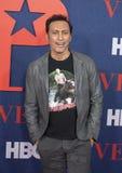 Aasif Mandvi przy premiera Definitywny sezon VEEP zdjęcie royalty free