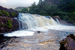 Aasleagh Falls Royalty Free Stock Photos