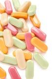 Aassorted kleurrijk suikergoed Stock Fotografie