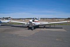 aastorp机场飞机推进器rakkestad 库存图片
