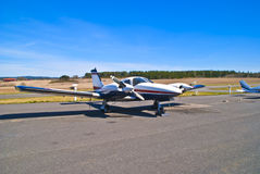 Aastorp (two-engine propeller plane). Rakkestad Airport Aastorp is an airport located on the farm Aastorp about 4 km (by road) south of downtown Rakkestad Stock Image