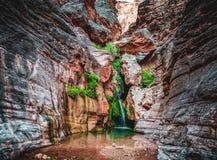 Abîme d'elfes caché dans Grand Canyon image libre de droits