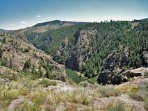 Abîme du Colorado Photo libre de droits