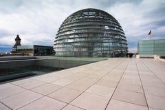 Abóbada alemão de Reichstag imagem de stock royalty free