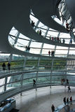 Abóbada alemão de Reichstag Fotografia de Stock Royalty Free