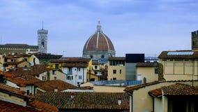 Abóbada colorida de Florença do telhado imagens de stock
