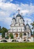 , abóbada, cruz, verão, catedral no bolchevique Vyazyomy, Rússia Foto de Stock