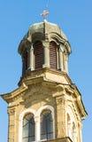 Abóbada Cyril e catedral de Methodius em Bourgas, Bulgária foto de stock