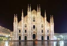 Abóbada da catedral de Milão Imagens de Stock
