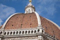 Abóbada da catedral do domo, Florença imagens de stock