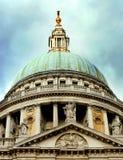A abóbada da catedral do ` s de St Paul Imagens de Stock Royalty Free