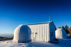 Abóbada da cume - centro do visitante da astronomia da mancha solar - nanômetro fotografia de stock