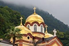 Abóbada da foto do monastério novo de Athos fotos de stock royalty free