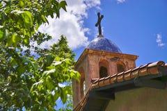 Abóbada da igreja com cruz Foto de Stock