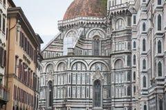 Igreja da catedral do domo em Florença Fotografia de Stock Royalty Free
