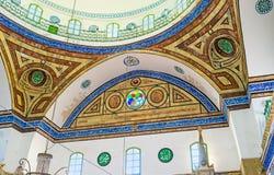 A abóbada da mesquita do al-Jazzar Imagem de Stock