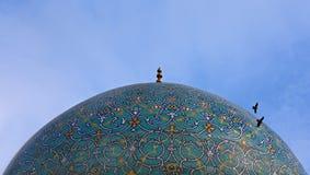 Abóbada da mesquita em Isfahan Imagem de Stock