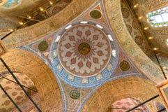 A abóbada da nave da mesquita de Sultanahmed, mesquita azul Fotografia de Stock