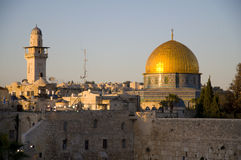 Abóbada da rocha em Jerusalem Foto de Stock Royalty Free