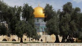 Abóbada da rocha, Jerusalem, Israel imagem de stock royalty free