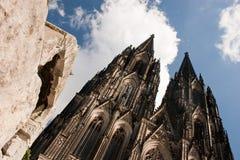Abóbada de Colónia, Alemanha Foto de Stock