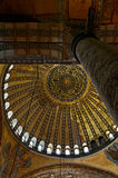 Abóbada de Hagia Sophia fotos de stock