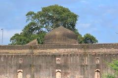 Abóbada de Jal Mahal histórico (palácio) Dhar fotografia de stock