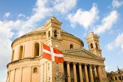 Abóbada de Mosta, Malta imagens de stock