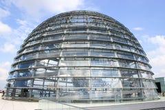 Abóbada de Reichstag Fotografia de Stock