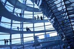 Abóbada de Reichstag Foto de Stock