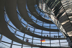 Abóbada de Reichstag Berlim Imagem de Stock Royalty Free