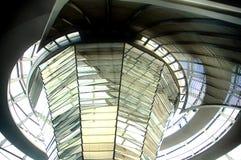 Abóbada de Reichstag - Berlim Fotografia de Stock Royalty Free