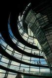 Abóbada de Reichstag - Berlim Fotos de Stock Royalty Free
