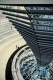 Abóbada de Reichstag - Berlim Foto de Stock Royalty Free