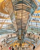 Abóbada de Reichstag em Berlim, Alemanha Imagens de Stock Royalty Free