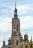 Abóbada de uma igreja no estilo gótico Fotografia de Stock Royalty Free