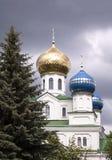 Abóbada de uma igreja ortodoxa Foto de Stock Royalty Free