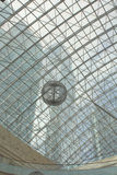 Abóbada de vidro do edifício Fotografia de Stock Royalty Free