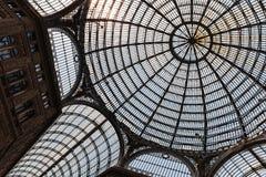 Abóbada de vidro do telhado da galeria Umberto mim Fotografia de Stock Royalty Free