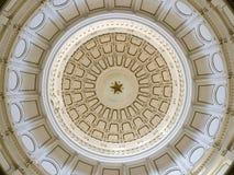 Abóbada do Capitólio do estado de Texas fotografia de stock