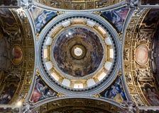 A abóbada do La Maggiore de Santa Maria Imagem de Stock Royalty Free