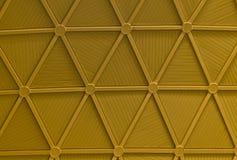 Abóbada do metal na construção moderna Imagem de Stock