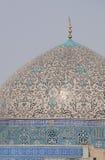 Abóbada do Sheikh Lotf Allah Mesquita fotografia de stock