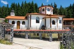 A abóbada do templo no monastério de Saint Panteleimon em Bulgária foto de stock royalty free
