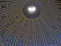 Abóbada do Vaticano imagem de stock
