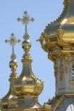 Abóbada dourada foto de stock