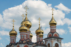 Abóbada dourada da igreja Imagens de Stock Royalty Free