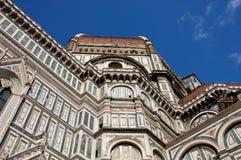 A abóbada em Florença imagens de stock