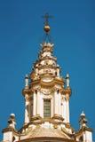 Abóbada em um gosto barroco Fotografia de Stock Royalty Free